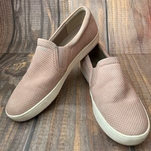NATURALIZER pink slip on shoes size 9.5